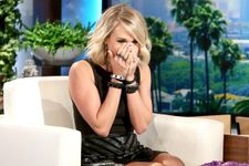 Carrie Underwood Gets Seriously Scared On 'Ellen'