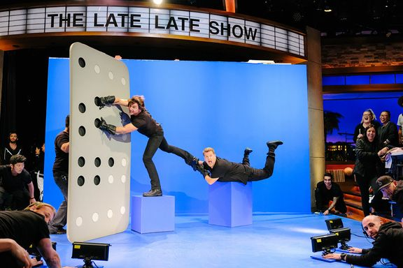 Tom Cruise Recreates His Most Iconic Roles With James Corden