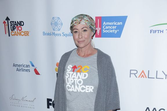 Shannen Doherty Shares Photo From First Day Of Radiation Treatment