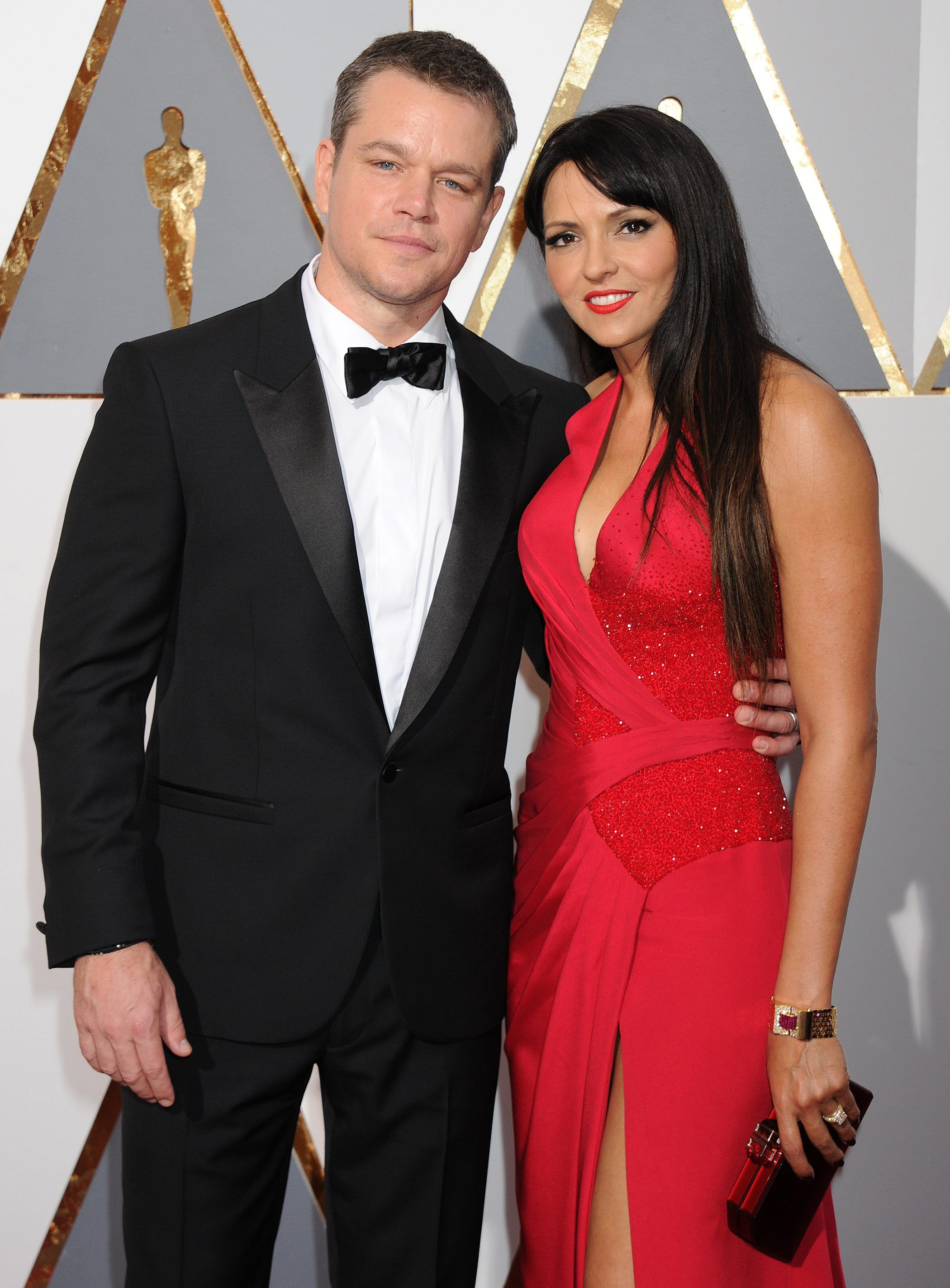 Things You Might Not Know About Matt Damon And Luciana Barroso's Relationship - Fame10