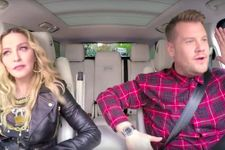 Madonna Talks Kissing Michael Jackson In Wild 'Carpool Karaoke'