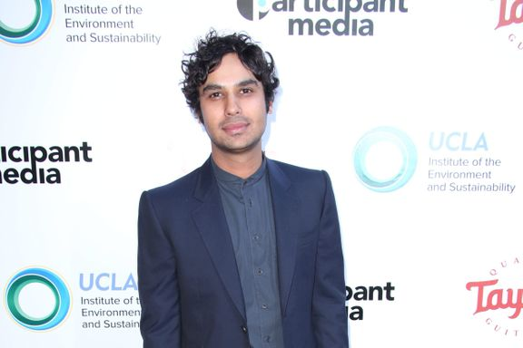 7 Things You Didn't Know About 'Big Bang Theory' Star Kunal Nayyar