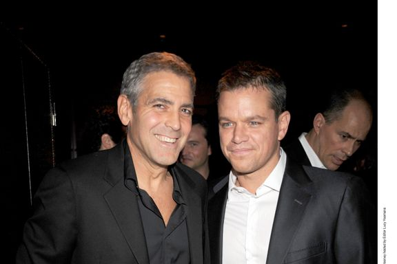 Matt Damon Reveals He Was One Of The First People George Clooney Told About Amal's Pregnancy