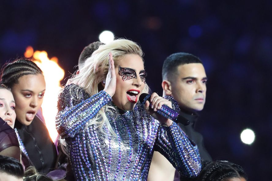 Lady Gaga Dominates Super Bowl Halftime Show