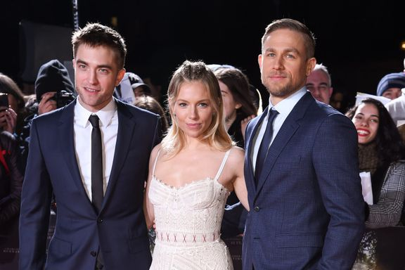 Charlie Hunnam Says He And Robert Pattinson Were Not Friends On Set