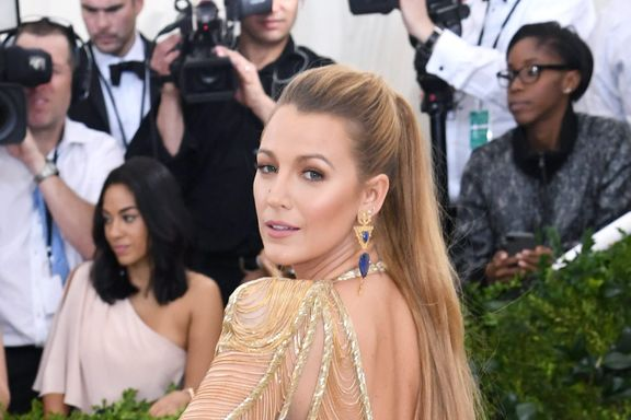 Blake Lively Injured While Filming New Film 'The Rhythm Section'