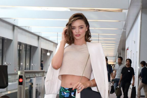 10 Celebs With The Best Airport Style