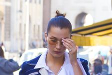 Would You Wear Bella Hadid's Latest Fall Coat Trend?
