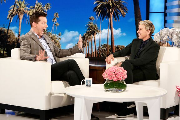 Will & Grace Star Sean Hayes Reveals He Was Recently Hospitalized
