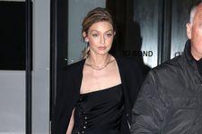 Gigi Hadid Just Wore The Riskiest Little Black Dress To A New York City Gala
