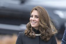 Kate Middleton Just Wore The Chicest Maternity Coat
