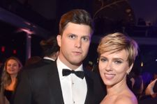 Scarlett Johansson And New Boyfriend Colin Jost Make First Public Appearance