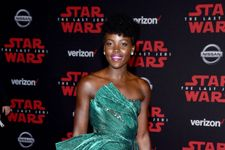 Lupita Nyong'o Dazzled At The Star Wars Premiere Red Carpet