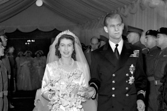 Hidden Details On Queen Elizabeth's Wedding Dress
