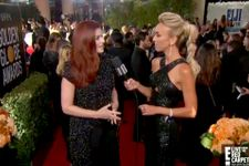 Debra Messing Calls Out E! Network During Red Carpet Interview With E!