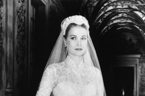 Hidden Details On Grace Kelly's Wedding Dress