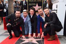 'NSYNC Reunites For Walk Of Fame Ceremony