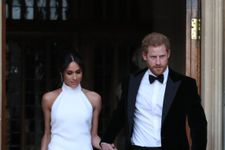 Stella McCartney Talks Designing Duchess Meghan's Reception Dress