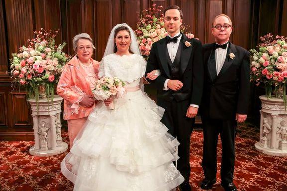 "Mayim Bialik Reveals She ""Didn't Feel Beautiful"" During Big Bang Theory Wedding"