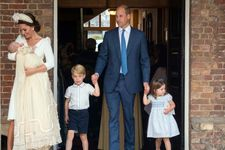 The Royal Family Shares Details And First Photos Of Prince Louis' Christening