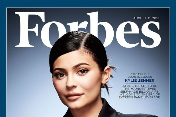 Kylie Jenner Covers Forbes' Most Successful American Businesswomen Issue