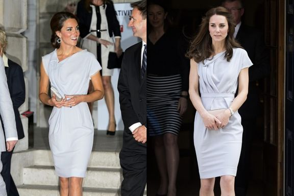 22 Times That Kate Middleton Repeated An Outfit