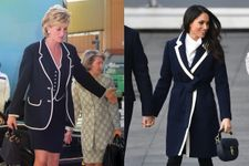 Times Meghan Markle Channelled Princess Diana's Style