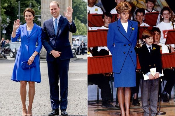 Copycat Style: All The Times Kate Middleton Channeled Princess Diana