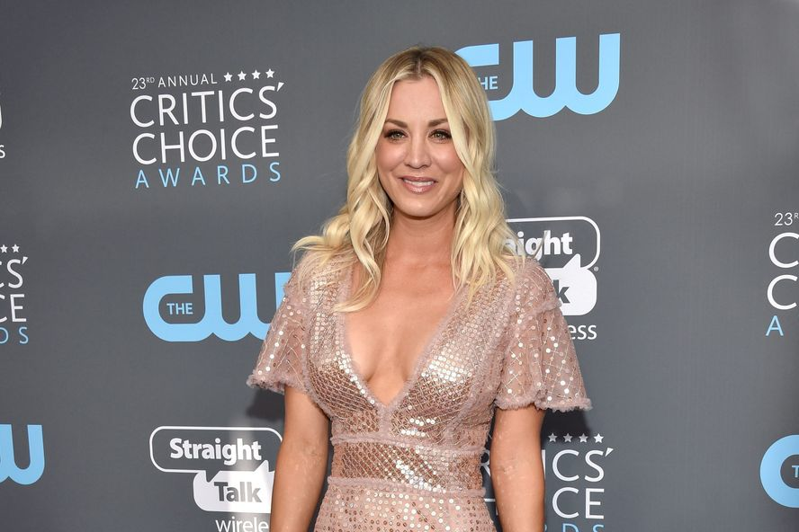 Kaley Cuoco Shares Sweet Message After News Of The Big Bang Theory Ending