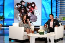 Saved By The Bell's Tiffani Thiessen And Mario Lopez Reunite On The Ellen Show
