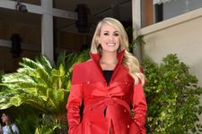 Carrie Underwood Makes Rare Red Carpet Appearance With Son Isaiah For Walk Of Fame Ceremony