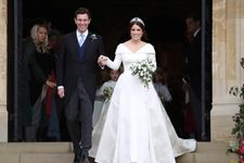 Princess Eugenie's Wedding Dress Was Designed To Feature Her Spinal Scar