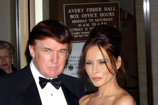 Rare Pictures Of Donald And Melania Trump You Haven't Seen