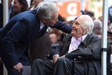 Kirk Douglas, 101, Makes Rare Public Appearance For Son Michael's Walk Of Fame Ceremony
