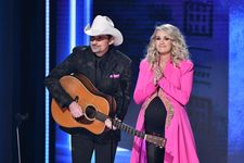 Carrie Underwood Reveals She Is Expecting Another Son At CMAs