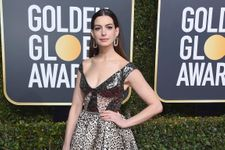 Did Anne Hathaway Just Wear Her Riskiest Look Yet At The Golden Globes?
