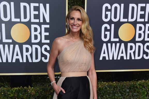 Did Julia Roberts Just Wear Pants And A Dress To The 2019 Golden Globes?