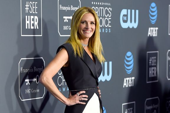 Julia Roberts Just Wore Another Hybrid Look For The Critics' Choice Awards