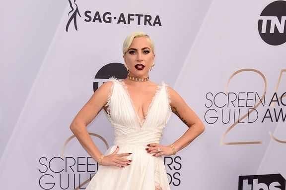 Lady Gaga Dazzles In Dior At The Screen Actors Guild Awards