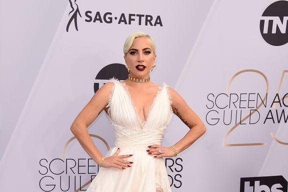 Lady Gaga Dazzles In Dior At The Screen Actors Guild Awards