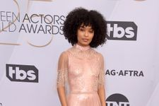 Yara Shahidi Wore A Sequin Catsuit At The Screen Actors Guild Awards
