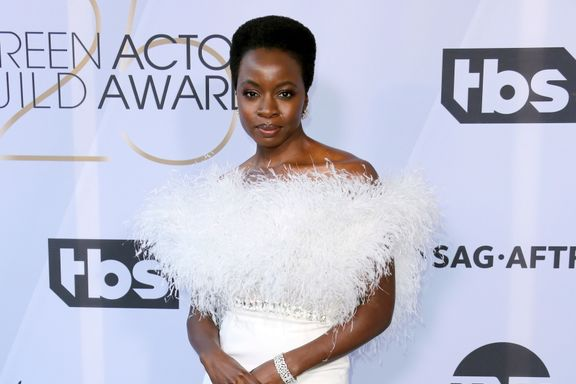 Danai Gurira Was All Feathers At The 2019 SAG Awards