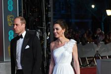 Kate Middleton Is A Vision In White On The BAFTA Red Carpet