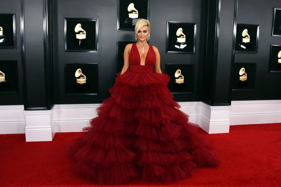 "Bebe Rexha Stuns On Grammys Red Carpet After Being Told She Was ""Too Big"" By Designers"