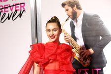 Miley Cyrus Attends 'Isn't It Romantic' Premiere On Husband Liam Hemsworth's Behalf