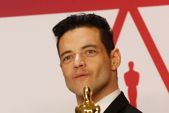 Rami Malek Treated By Paramedics After Falling Off Stage Following Oscar Win