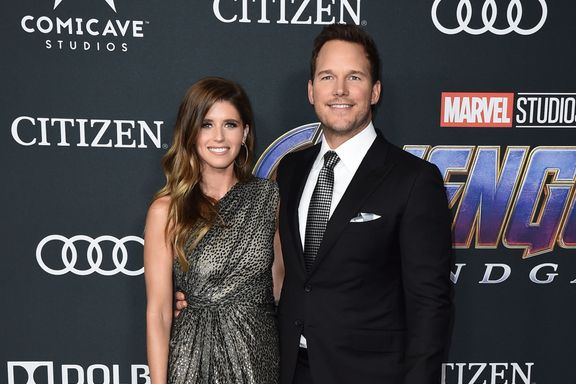 Chris Pratt And Katherine Schwarzenegger Make Red Carpet Debut At Avengers: Endgame
