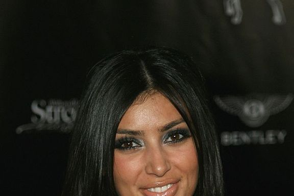 Kim Kardashian's Shocking Face Evolution