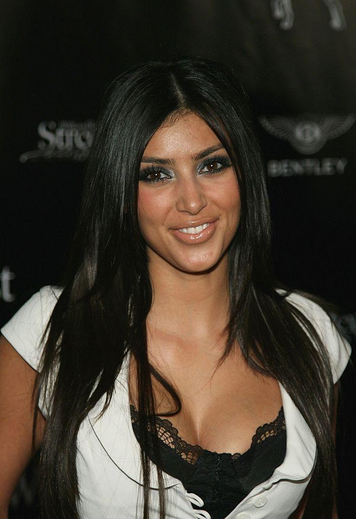 Kim Kardashian's Shocking Face Evolution