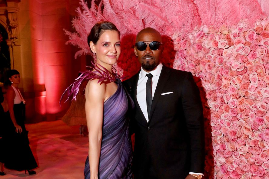 Jamie Foxx And Katie Holmes Appear At 2019 Met Gala Together Marking First Major Event As A Couple
